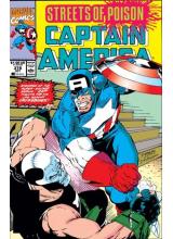 Комикс 1990-10 Captain America 378