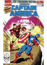 Комикс 1990 Captain America Annual 9