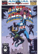 Комикс 1991 Captain America Annual 10