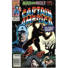 Комикс 1992-07 Captain America 402