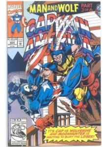 Комикс 1992-08 Captain America 404