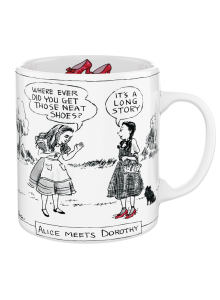 Чаша Алиса Среща Дороти New Yorker