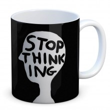 Чаша David Shrigley Stop Thinking
