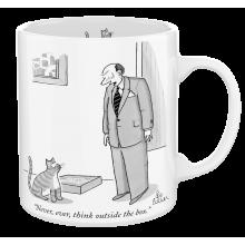 Чаша The New Yorker Никога не Мисли Извън Кутията