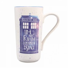 MUGLDW01 Лате Чаша Dr. Who Galaxy