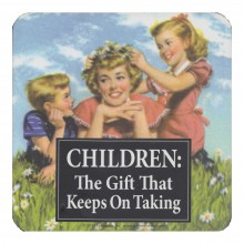 Подложка за чаша | Children keep on taking