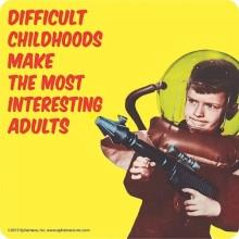 Подложка за чаша DIFFICULT CHILDHOODS
