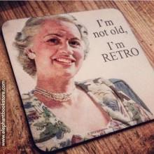 Подложка за чаша Not Old Retro