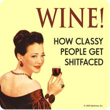Подложка за чаша Wine!