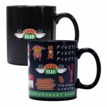 Топлочувствителна Чаша за Кафе Приятели MUGBFDS04