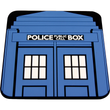 "Vintage Police Box ""Doctor Who Style"" Coaster"