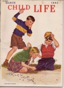 Списание Child Life 1941-03