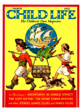 Списание Child Life 1937-03