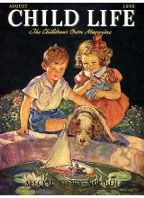 Списание Child Life 1938-08