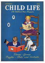 Списание Child Life 1938-11