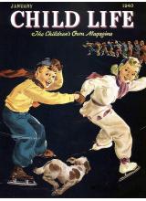 Списание Child Life 1940-01