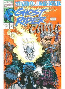Comics 1991-12 Marvel Comics Presents Ghost Rider and Cable 92
