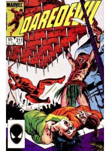 Comics 1984-10 Daredevil 211