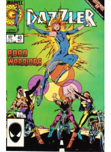 Комикс 1985-11 Dazzler 40