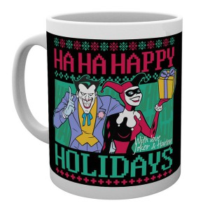 Mug Batman Comics Happy Holidays