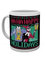 Чаша Батман Комикс Happy Holidays