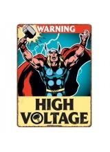 Малка Метална Табела Thor High Voltage