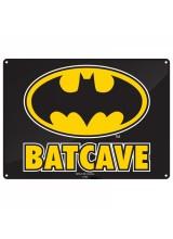 Метална табела Batcave
