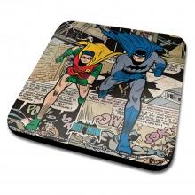 Подложка за чаша Batman and Robin Montage