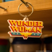 Rubber Keychain Wonder Woman