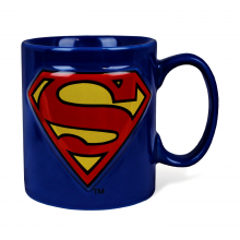 Superman Logo Embossed Mug