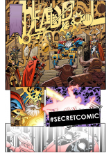 Комикс 2016-01 Deadpool 1 Secret Comic Variant