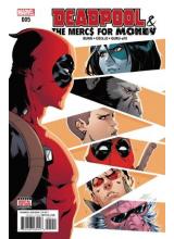 Комикс 2016-08 Deadpool and The Mercs For Money 5