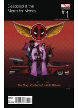 Комикс 2016-09 Deadpool and The Mercs For Money 1 Hip-Hop Variant Cover