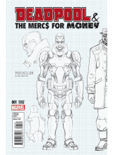 Комикс 2016-09 Deadpool and The Mercs For Money 1 Young Veriant Cover
