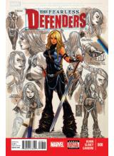 Комикс 2013-10 The Fearless Defenders 8