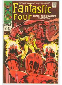 Comics 1968-12 Fantastic Four 81