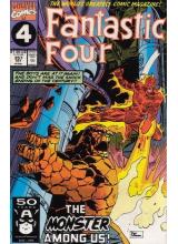 Комикс 1991-10 Fantastic Four 357