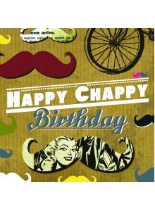 Поздравителна картичка Happy Chappy Birthday
