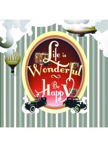 Поздравителна картичка Life is Wonderful