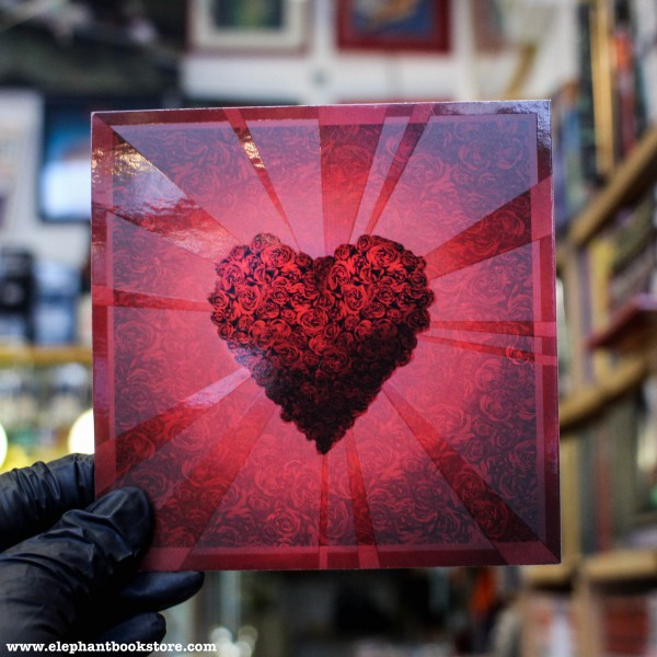 Поздравителна картичка Сърце 1