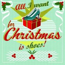 Поздравителна картичка All I Want for Christmas