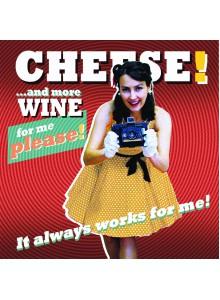 Поздравителна картичка Cheese