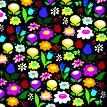 Поздравителна картичка Цветя