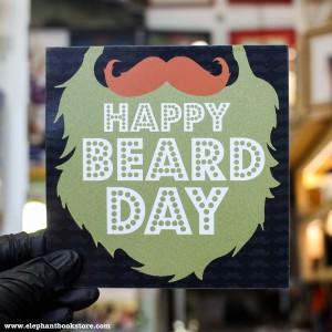 Поздравителна картичка Happy Beard Day