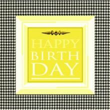 Поздравителна картичка Happy Birhtday Пепит