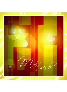 Поздравителна картичка Make a Wish