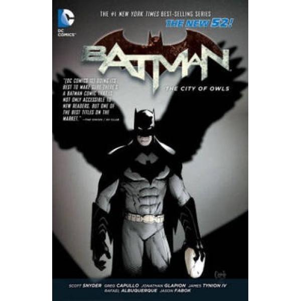 Batman New 52 vol. 2 The City Of Owls 1