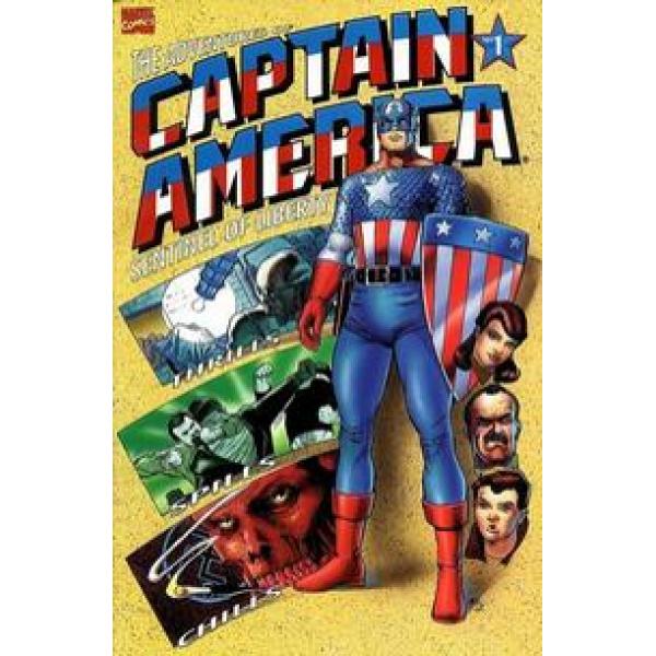 Captain America: Sentinel of Liberty 1