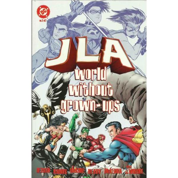 JLA: World Without Grown-Ups 2 1