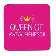HAP171 Подложка за чаша Queen of Awesomeness